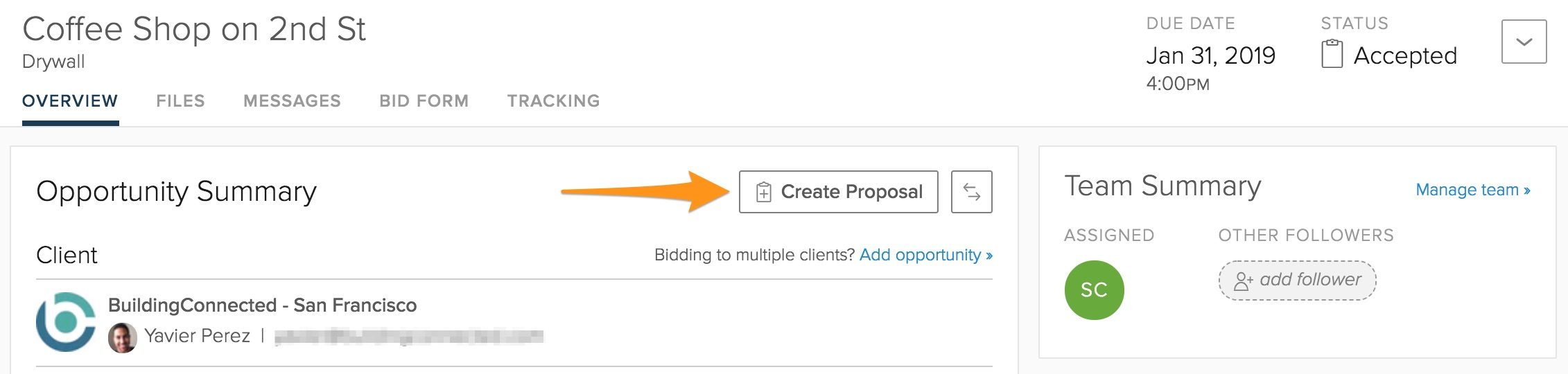 how to submit your bid through buildingconnected buildingconnected